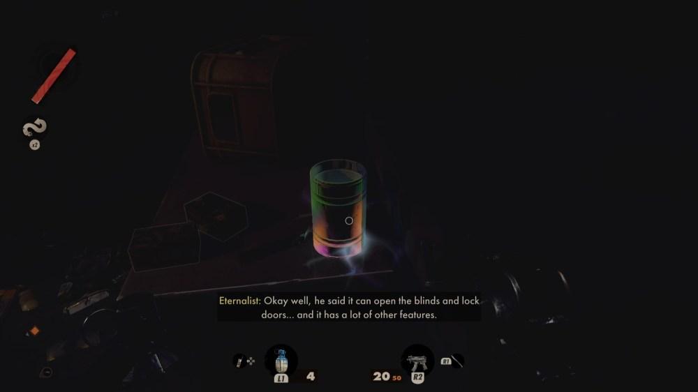 deathloop glowing items