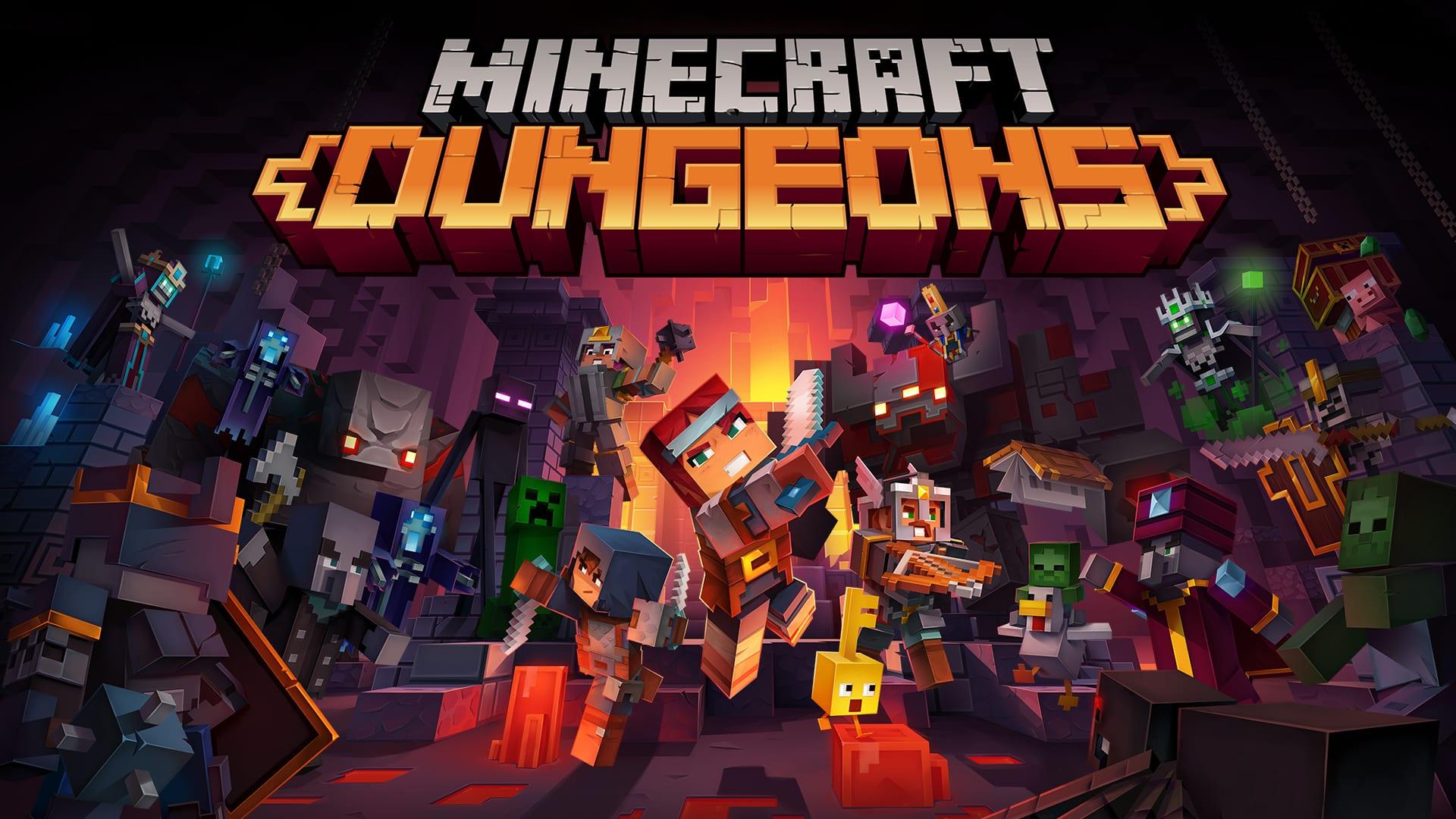 Minecraft Dungeons показывает сезонных авантюристов и Башню
