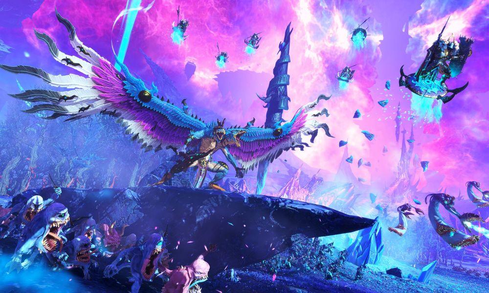 Total War: Warhammer III Introduces the Tzeentch Chaos Faction With New Trailer & Screenshots