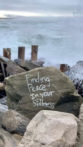 Finding peace in your stillness?