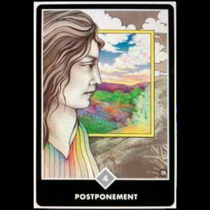 Postponement Oracle Card