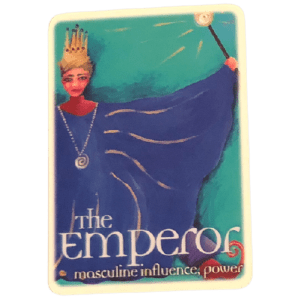 The Emperor from The Oracle Tarot