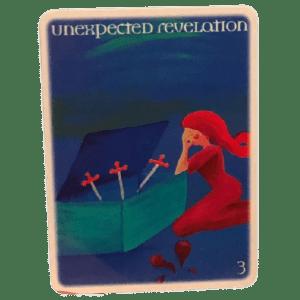 Three of Swords - Unexpected Revelations