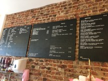 Eclectic plant-based menu