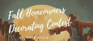 Fall Homeowners Decorating Contest 2019
