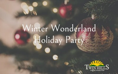 Winter Wonderland Holiday Party