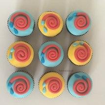 Sam de brandweerman cupcakes