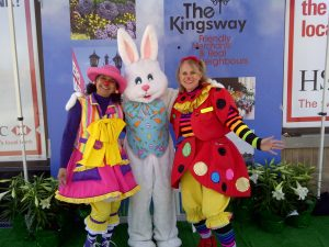fun times with the Easter Bunny!