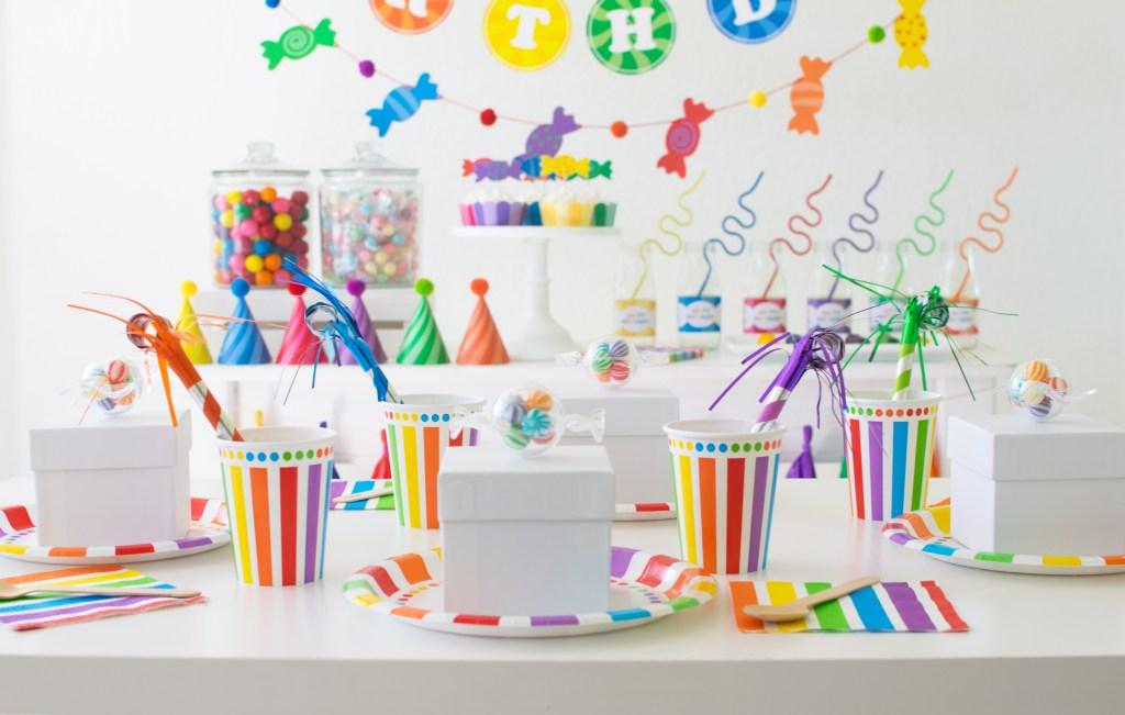 Host a Rainbow Candy Shoppe Birthday Party