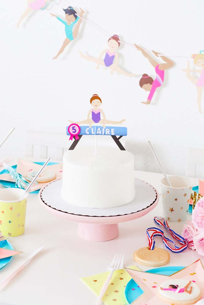 Host A Fun Gymnastics Themed Birthday Party For Your Little Gymnast