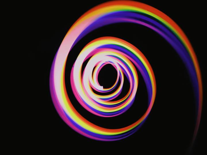spiral curriculum: a spiral of light