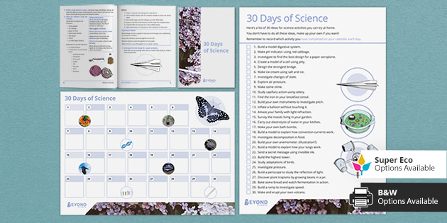 Post-Easter Resources: 30 Days of Science Activities Bundle