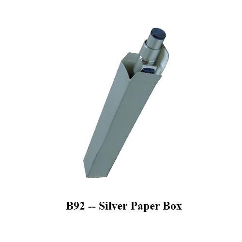 B92 — Silver Paper Box
