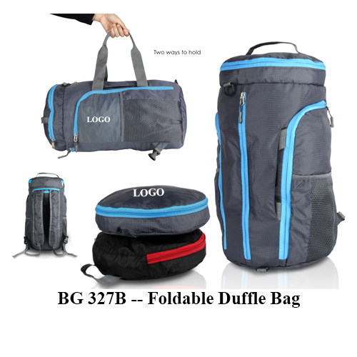 BG 327B — Foldable Duffle Bag
