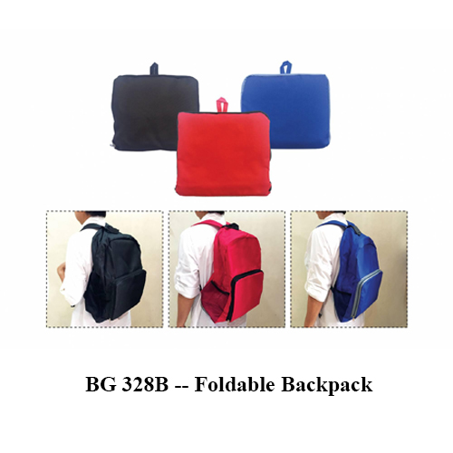 BG 328B — Foldable Backpack