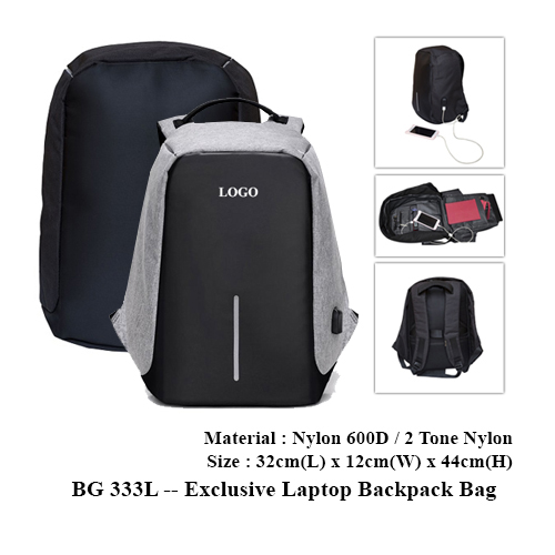 BG 333L — Exclusive Laptop Backpack Bag