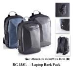BG 338L -- Laptop Back Pack