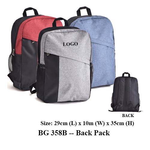 BG 358B — Back Pack
