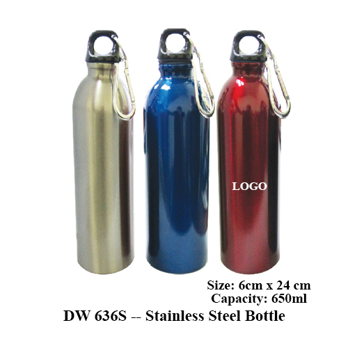 DW 636S — Stainless Steel Bottle