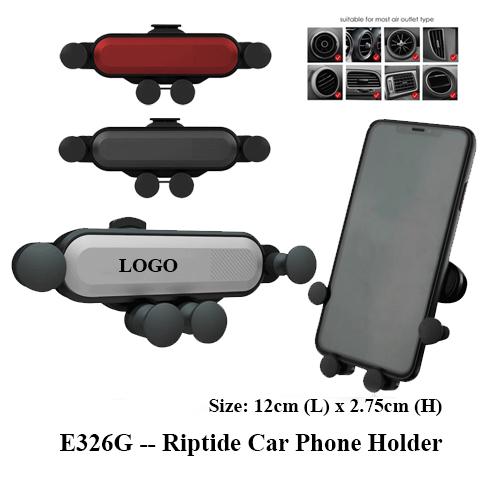 E326G — Riptide Car Phone Holder