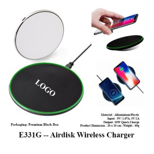 E331G Airdisk Wireless Charger 1 - E331G -- Airdisk Wireless Charger