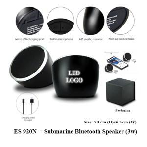 ES 920N Submarine Bluetooth Speaker 3w 1 - ES 920N -- Submarine Bluetooth Speaker (3w)