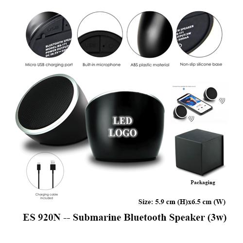 ES 920N — Submarine Bluetooth Speaker (3w)
