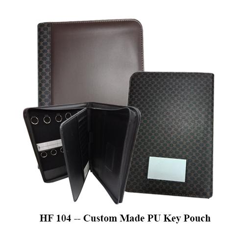 HF 104 — Custom Made PU Key Pouch