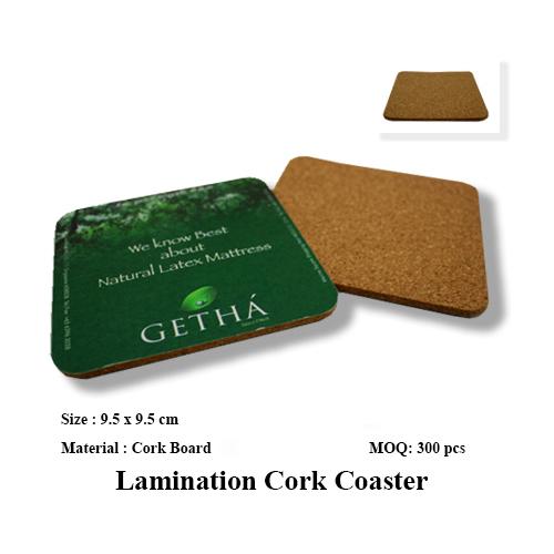 Lamination Cork Coaster