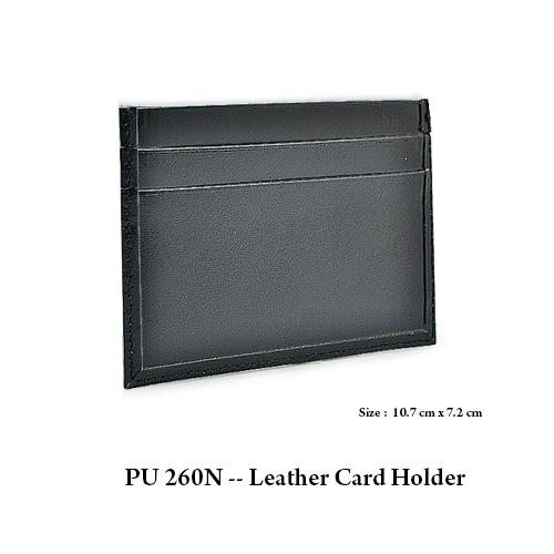 PU 260N — Leather Card Holder