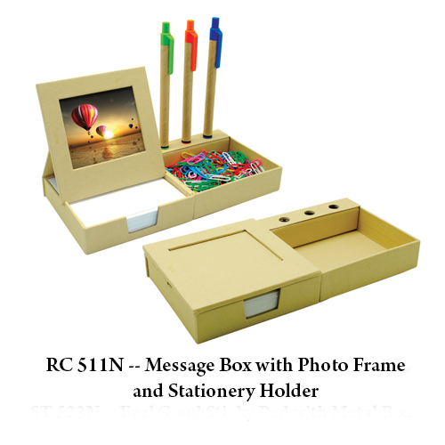 RC 511N — Message Box with Photo Frame and Stationery Holder