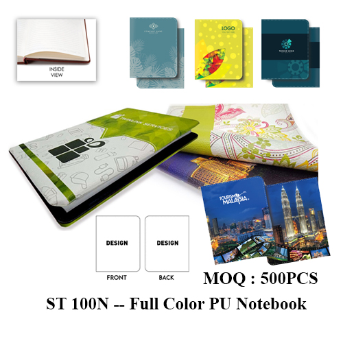 ST 100N — Full Color PU Notebook