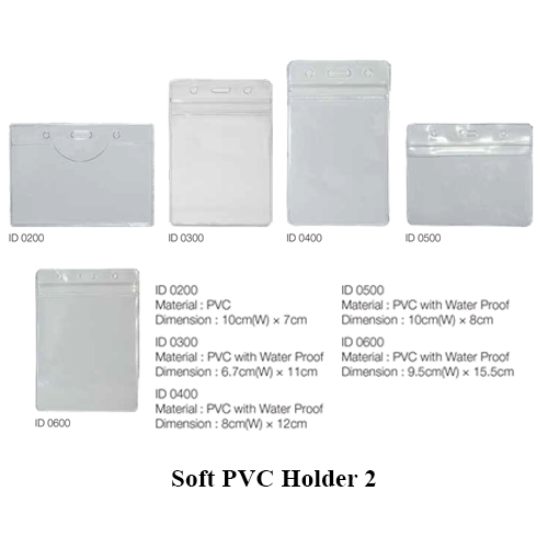 Soft PVC Holder 2