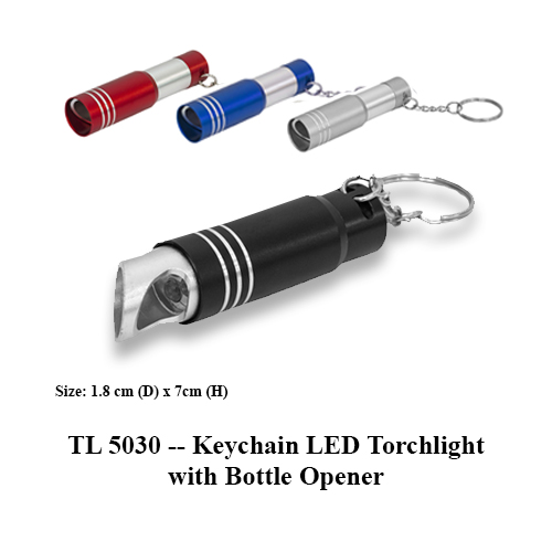 TL 5030 — Keychain LED Torchlight with Bottle Opener