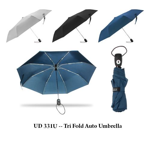 UD 331U — Tri Fold Auto Umbrella