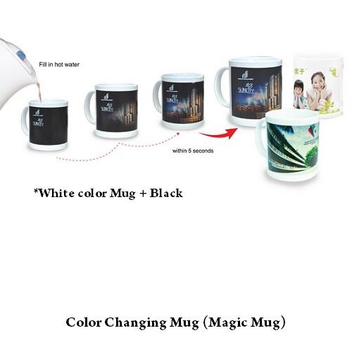 White Color Changing Mug