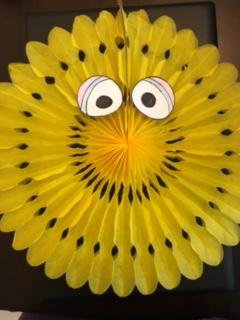 Big Yellow bird eyes