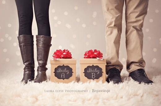 20 Cute Twin Pregnancy Announcements From Pinterest TwinMom