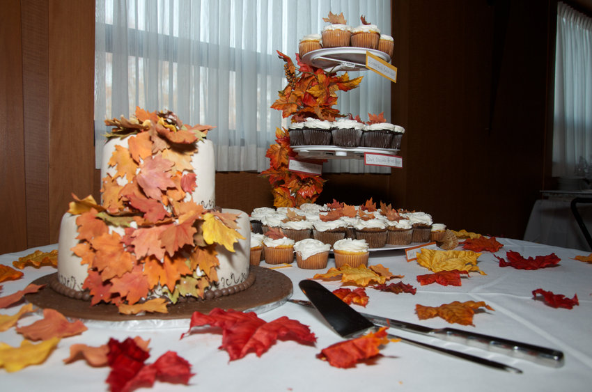 wedding catered in the fall