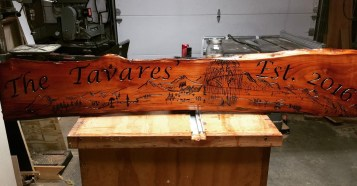 Wedding Sign - Tavares