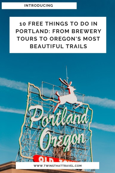 10 Free Things to do in Portland