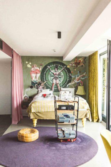 Analogue zimmer, 25hours hotel vienna