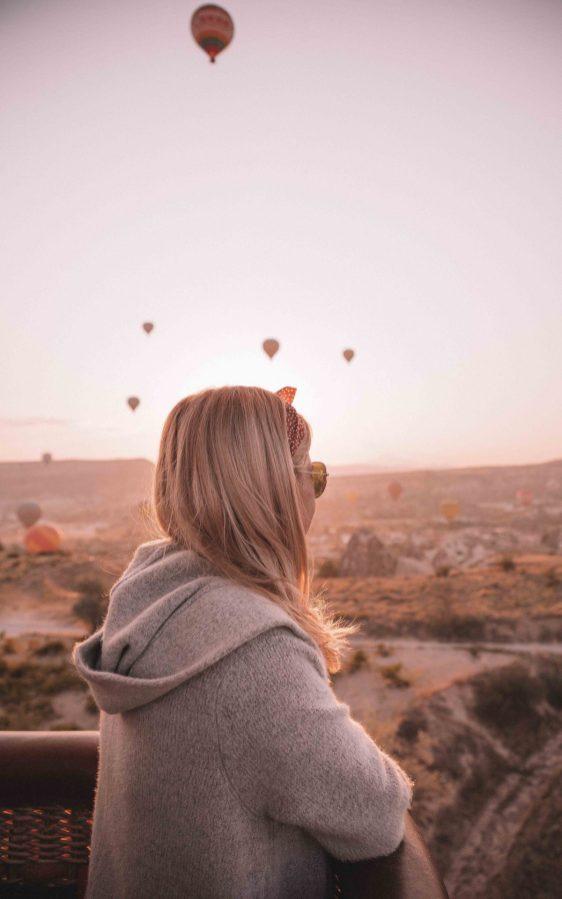 hot air balloon rides turkey