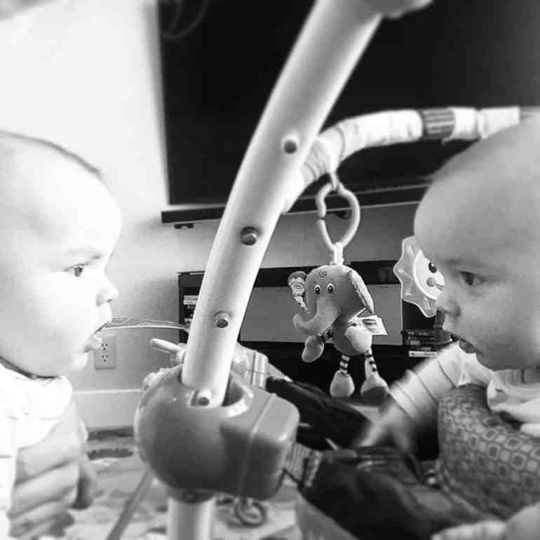 twins-notice-each-other