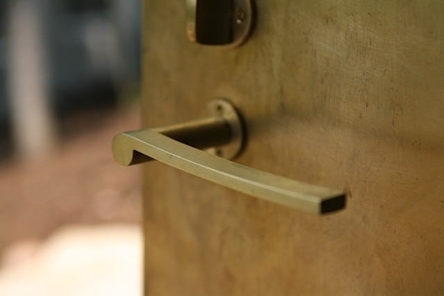 brass-lever-handle