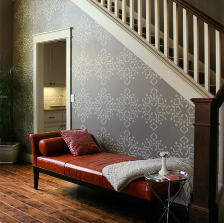 feature-wall-stenciled