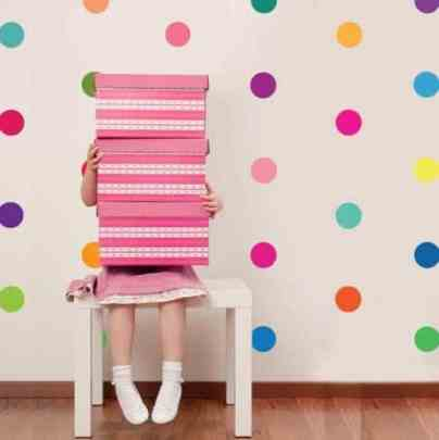 how to create the ultimate playroom polka dots
