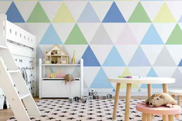 how to create the ultimate playroom wallpaper