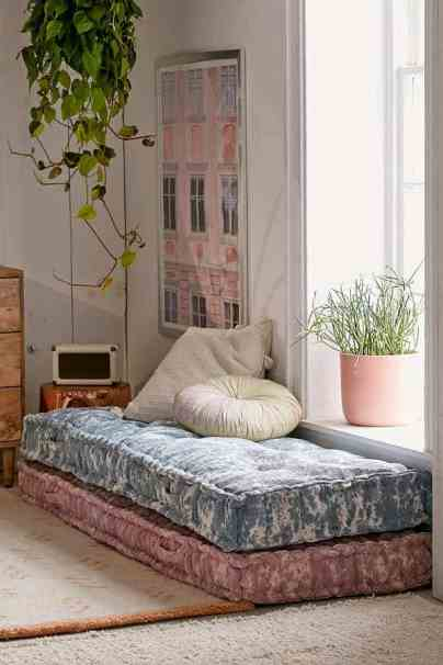 Textured Daybed Cushion - Urban Outfitters