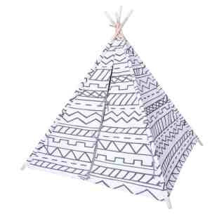 gender neutral kids room teepee